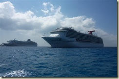 Carnival Freedom and Voyager OTS (Small)