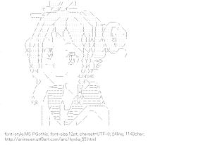 [AA]Sawakiguchi Misaki (Hyoka)