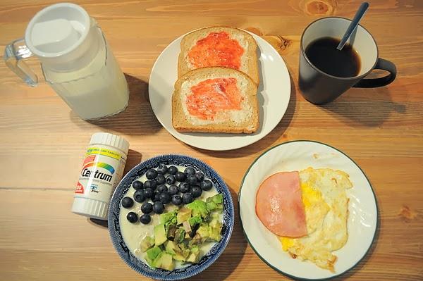 大份量的早餐