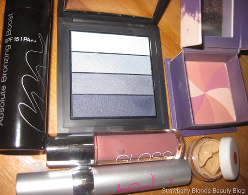 GOSH Blue eyeshadow quad (2)