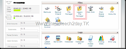 Legacy File manager-Rapidleech1