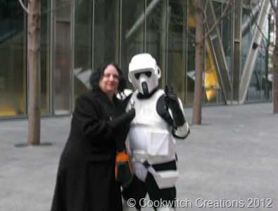 Blurry Me and Stormtrooper