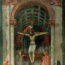41 - Masaccio - La Trinidad (Santa Maria la Novella)