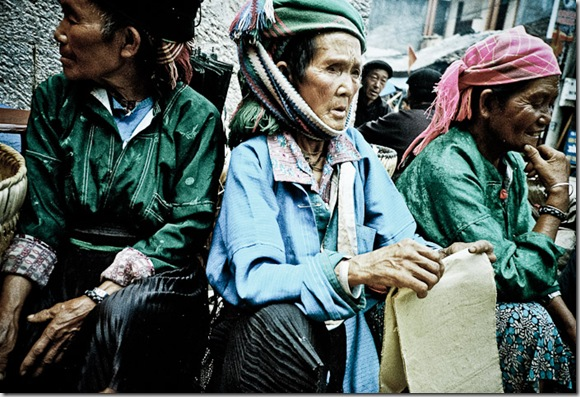 At the market in Ha Giang, in northernmost Vietnam