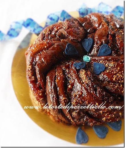Torta brioche al cacao