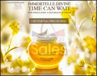 FREE L'Occitane Immortelle Divine Sample Kit 2013 Malaysia Deals Offer Shopping EverydayOnSales