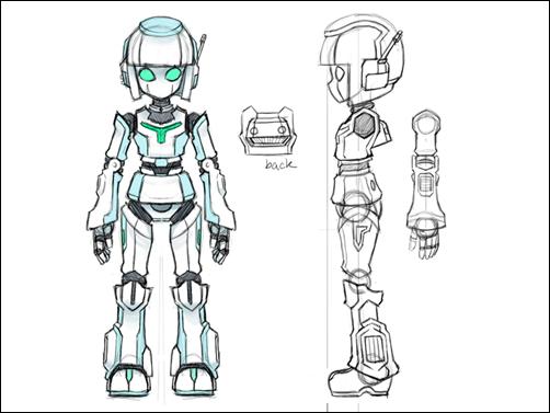 Advanced 3D: Robot Concept Design