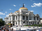 The amazing Palacio de Bellas Artes, the premier opera house of Mexico City