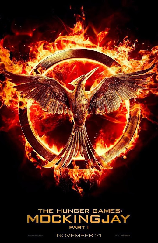 First Mockingjay Part 1 Teaser Poster via GeekTyrant