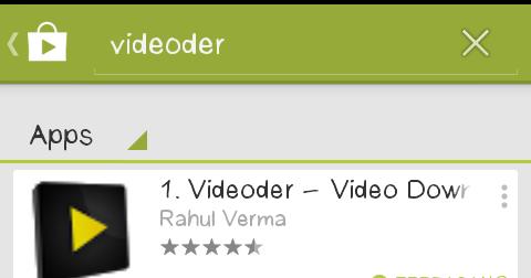 Azy Satria Blog Videoder Aplikasi Mendownload Video Untuk Android