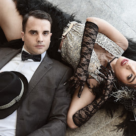 The Great Gatsby by Marites Reales - People Couples ( 1920, great gatsby, gatsby, couple, flappers )