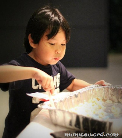 Children chicken rice