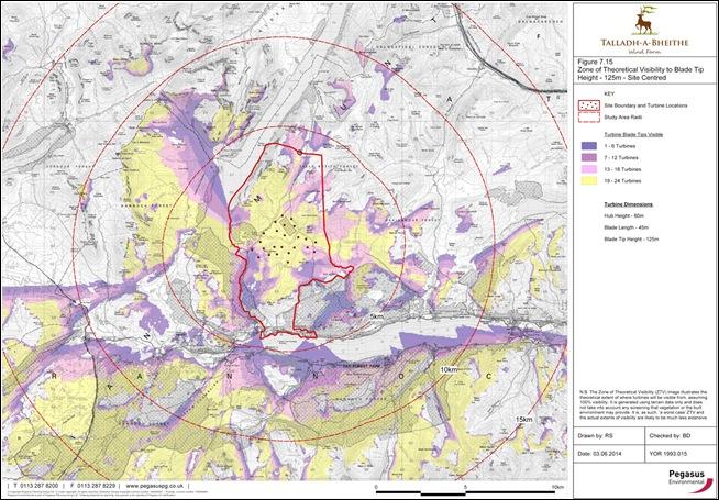 TALLADH-A-BHEITHE ZTV MAP