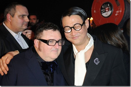 Alber Elbaz Celebs Paris Fashion Week tNro8llMqJrl