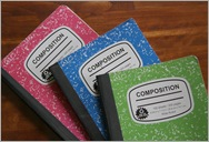 Composition books 3