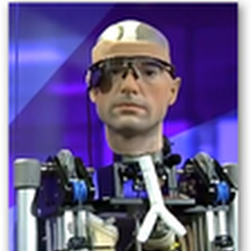 Rex The Humanoid Robot Bionic Man With Body Organs That Work, a Heart, Pancreas and It Bleeds Artificial Blood and Talks…