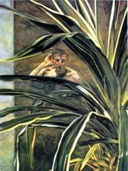 Interior with Plant, Reflection Listening Self Portrait Detail by Lucian Freud  http://www.easyart.com/scripts/zoom/zoom.pl?pid=380696