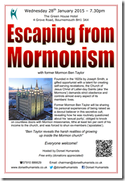 Escaping from Mormonism 28 January 2015