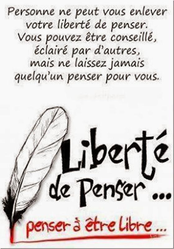 Liberté de penser