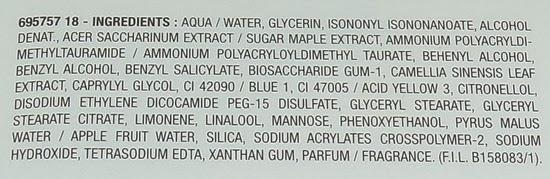 ingredientesgarniercremafrescahidratantepielmixta