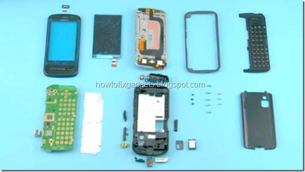 Схема разборки телефона nokia