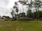 Old stone carvings near Pasunga, Sumba, on the way to Gunung Wanggameti (Dan Quinn, February 2014)