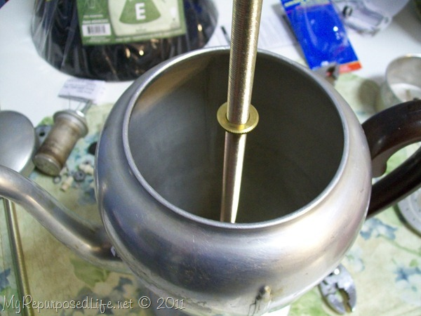 coffee pot lamp how to