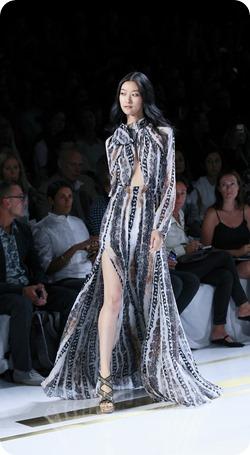Maxi Chiffon Dress Diane Von Furstenberg Spring/Summer 2014