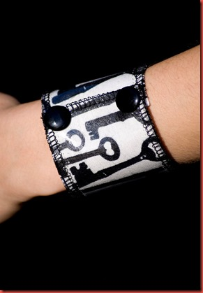 Skeleton Key Wrist Cuff