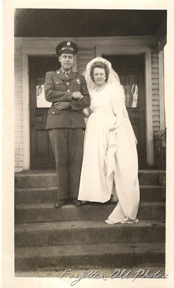 A soldier and his bride  ML Photos