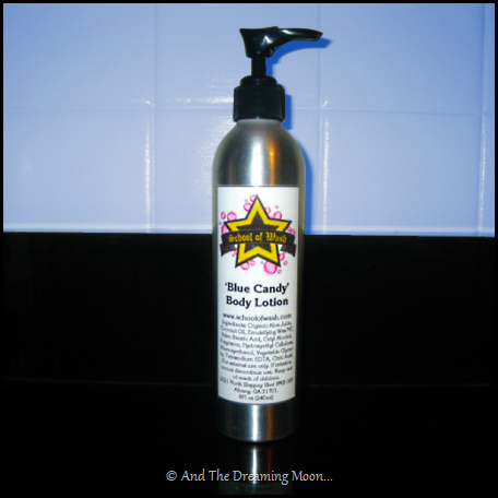 Blue Candy Handmade Body Lotion | School of Wash