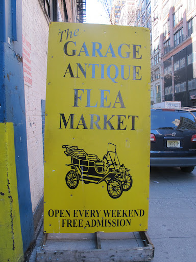 I come to the market nearly ever weekend - it's addicting. This is the entrance to the antique garage, which has an upper and lower level. Both are packed with fabulous finds.