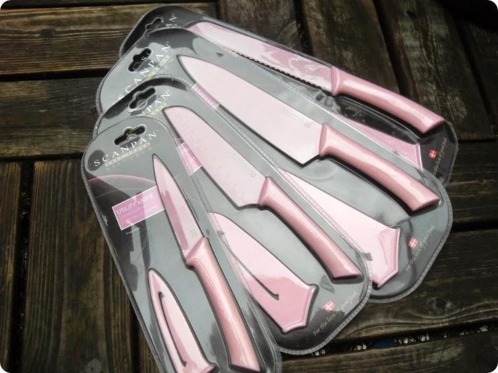 Lyserøde knive til Emilie