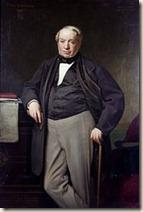 James de Rothschild d'après Hippolyte Flandrin 1864