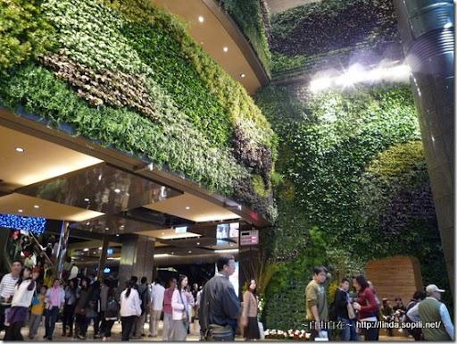 京站時尚廣場-植被牆