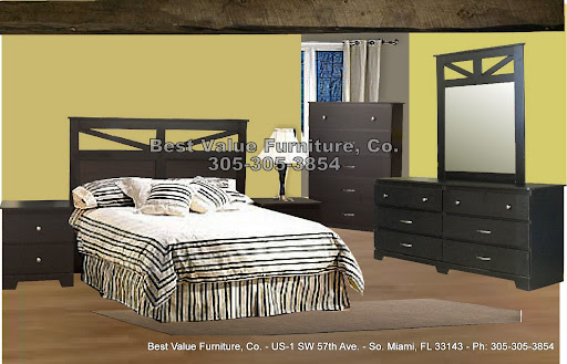 NEWPORT - $499 - 6 Pc Full/Queen Set -  Includes: Queen Bed, 2 Nightstands Dresser/Mirror & Chest