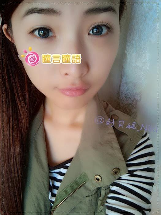 韓國GEO隱形眼鏡-GEO Sparkling 火花四色藍15