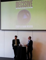 Chip Heath and Roger Martin (Rotman 2013-05-27)