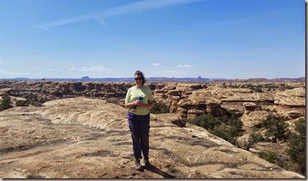 Kim in Canyonlands