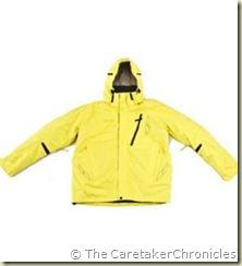 big yellow coat