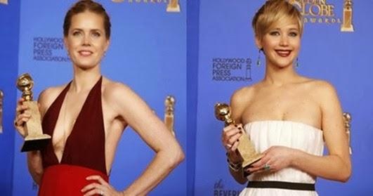 Jennifer Lawrence e Amy Adams consagram filme 'Trapaça'