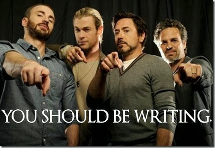 You should be Writing Avengers