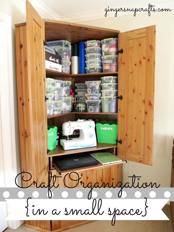 Craft Organization in a small place with #LifestyleCrafts