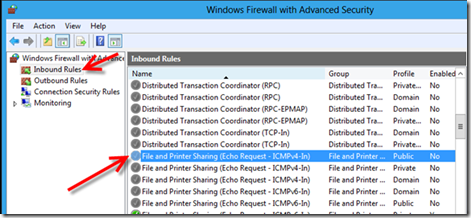 Enable Win 8 Respond To Ping Request  Configuring Windows8 Firewall