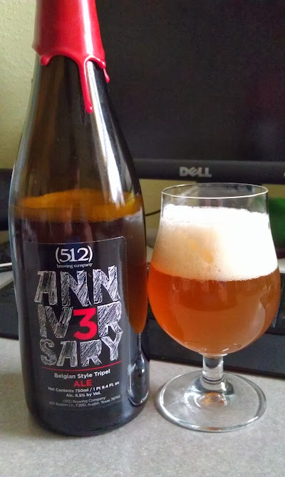 (512) Brewing 3rd Anniversary Tripel