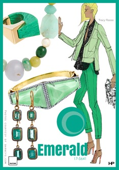 Pantone 2013 Spring Colors in Emerald