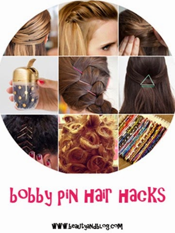 Bobby Pin Hair Hacks