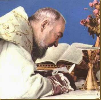 Misa de san Pío de Pietrelcina