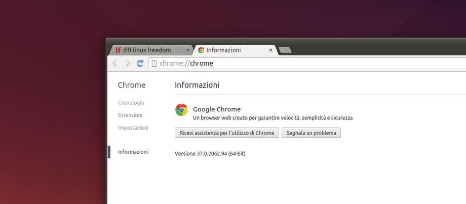 Google Chrome 37