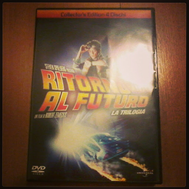 Back to the future collector's edition 4 dvd